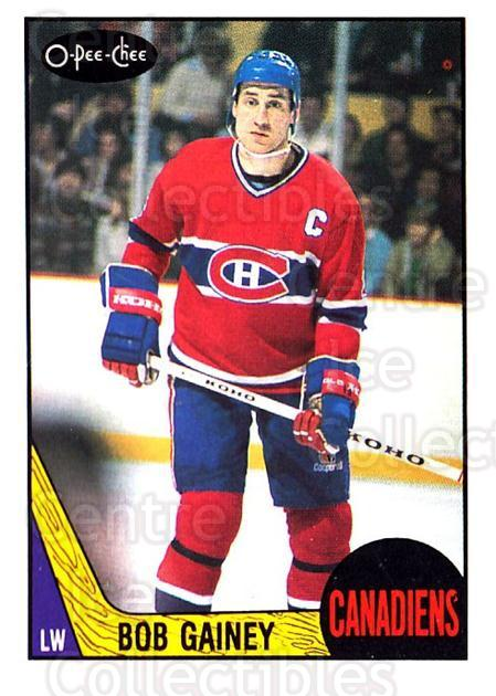 1987-88 O-Pee-Chee #228 Bob Gainey<br/>6 In Stock - $2.00 each - <a href=https://centericecollectibles.foxycart.com/cart?name=1987-88%20O-Pee-Chee%20%23228%20Bob%20Gainey...&quantity_max=6&price=$2.00&code=23837 class=foxycart> Buy it now! </a>