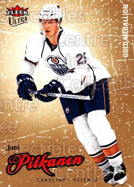 2008-09 Ultra Gold #26 Joni Pitkanen<br/>5 In Stock - $2.00 each - <a href=https://centericecollectibles.foxycart.com/cart?name=2008-09%20Ultra%20Gold%20%2326%20Joni%20Pitkanen...&quantity_max=5&price=$2.00&code=238381 class=foxycart> Buy it now! </a>
