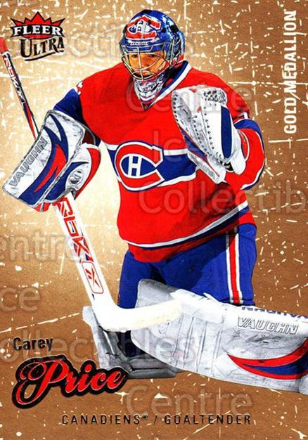 2008-09 Ultra Gold #33 Carey Price<br/>1 In Stock - $10.00 each - <a href=https://centericecollectibles.foxycart.com/cart?name=2008-09%20Ultra%20Gold%20%2333%20Carey%20Price...&quantity_max=1&price=$10.00&code=238388 class=foxycart> Buy it now! </a>
