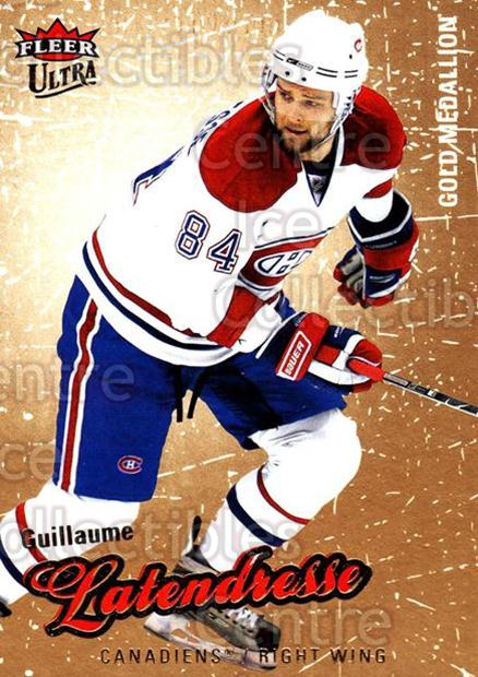 2008-09 Ultra Gold #39 Guillaume Latendresse<br/>4 In Stock - $2.00 each - <a href=https://centericecollectibles.foxycart.com/cart?name=2008-09%20Ultra%20Gold%20%2339%20Guillaume%20Laten...&quantity_max=4&price=$2.00&code=238394 class=foxycart> Buy it now! </a>