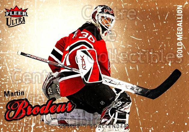 2008-09 Ultra Gold #40 Martin Brodeur<br/>4 In Stock - $2.00 each - <a href=https://centericecollectibles.foxycart.com/cart?name=2008-09%20Ultra%20Gold%20%2340%20Martin%20Brodeur...&quantity_max=4&price=$2.00&code=238395 class=foxycart> Buy it now! </a>