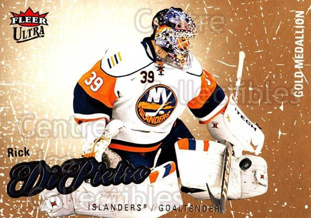 2008-09 Ultra Gold #46 Rick DiPietro<br/>5 In Stock - $2.00 each - <a href=https://centericecollectibles.foxycart.com/cart?name=2008-09%20Ultra%20Gold%20%2346%20Rick%20DiPietro...&quantity_max=5&price=$2.00&code=238402 class=foxycart> Buy it now! </a>