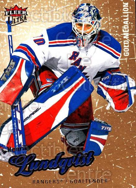 2008-09 Ultra Gold #53 Henrik Lundqvist<br/>3 In Stock - $2.00 each - <a href=https://centericecollectibles.foxycart.com/cart?name=2008-09%20Ultra%20Gold%20%2353%20Henrik%20Lundqvis...&quantity_max=3&price=$2.00&code=238409 class=foxycart> Buy it now! </a>