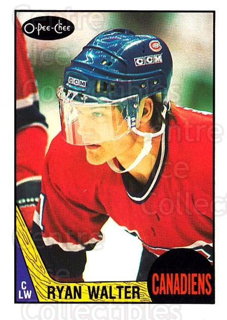 1987-88 O-Pee-Chee #231 Ryan Walter<br/>3 In Stock - $1.00 each - <a href=https://centericecollectibles.foxycart.com/cart?name=1987-88%20O-Pee-Chee%20%23231%20Ryan%20Walter...&quantity_max=3&price=$1.00&code=23840 class=foxycart> Buy it now! </a>