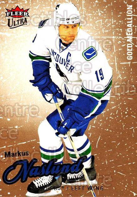 2008-09 Ultra Gold #56 Markus Naslund<br/>5 In Stock - $2.00 each - <a href=https://centericecollectibles.foxycart.com/cart?name=2008-09%20Ultra%20Gold%20%2356%20Markus%20Naslund...&quantity_max=5&price=$2.00&code=238412 class=foxycart> Buy it now! </a>