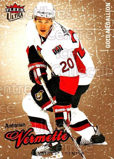 2008-09 Ultra Gold #62 Antoine Vermette<br/>5 In Stock - $2.00 each - <a href=https://centericecollectibles.foxycart.com/cart?name=2008-09%20Ultra%20Gold%20%2362%20Antoine%20Vermett...&quantity_max=5&price=$2.00&code=238418 class=foxycart> Buy it now! </a>