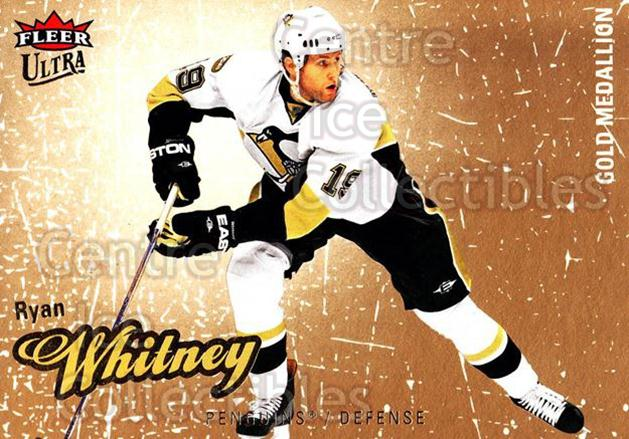 2008-09 Ultra Gold #79 Ryan Whitney<br/>5 In Stock - $2.00 each - <a href=https://centericecollectibles.foxycart.com/cart?name=2008-09%20Ultra%20Gold%20%2379%20Ryan%20Whitney...&quantity_max=5&price=$2.00&code=238434 class=foxycart> Buy it now! </a>
