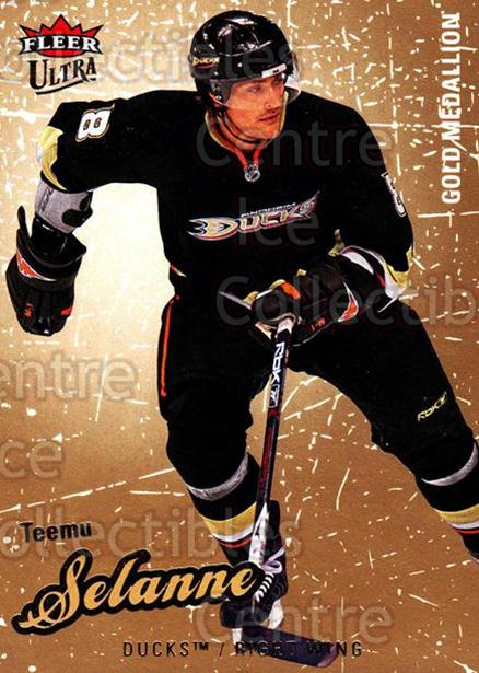 2008-09 Ultra Gold #105 Teemu Selanne<br/>2 In Stock - $2.00 each - <a href=https://centericecollectibles.foxycart.com/cart?name=2008-09%20Ultra%20Gold%20%23105%20Teemu%20Selanne...&quantity_max=2&price=$2.00&code=238460 class=foxycart> Buy it now! </a>