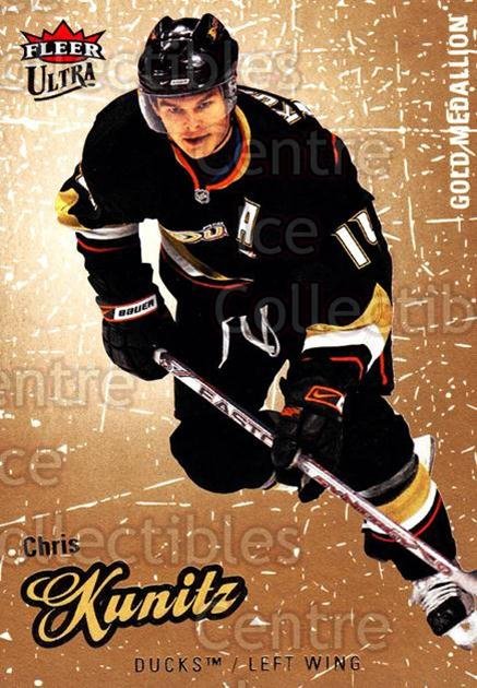 2008-09 Ultra Gold #107 Chris Kunitz<br/>5 In Stock - $2.00 each - <a href=https://centericecollectibles.foxycart.com/cart?name=2008-09%20Ultra%20Gold%20%23107%20Chris%20Kunitz...&quantity_max=5&price=$2.00&code=238462 class=foxycart> Buy it now! </a>