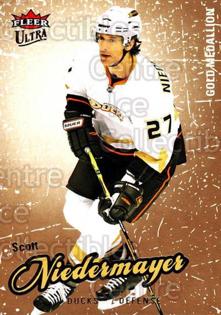 2008-09 Ultra Gold #108 Scott Niedermayer<br/>5 In Stock - $2.00 each - <a href=https://centericecollectibles.foxycart.com/cart?name=2008-09%20Ultra%20Gold%20%23108%20Scott%20Niedermay...&quantity_max=5&price=$2.00&code=238463 class=foxycart> Buy it now! </a>