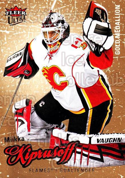 2008-09 Ultra Gold #109 Miikka Kiprusoff<br/>3 In Stock - $2.00 each - <a href=https://centericecollectibles.foxycart.com/cart?name=2008-09%20Ultra%20Gold%20%23109%20Miikka%20Kiprusof...&quantity_max=3&price=$2.00&code=238464 class=foxycart> Buy it now! </a>