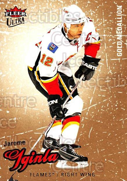 2008-09 Ultra Gold #110 Jarome Iginla<br/>5 In Stock - $2.00 each - <a href=https://centericecollectibles.foxycart.com/cart?name=2008-09%20Ultra%20Gold%20%23110%20Jarome%20Iginla...&quantity_max=5&price=$2.00&code=238465 class=foxycart> Buy it now! </a>