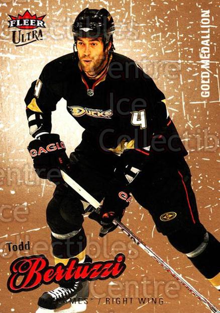 2008-09 Ultra Gold #114 Todd Bertuzzi<br/>4 In Stock - $2.00 each - <a href=https://centericecollectibles.foxycart.com/cart?name=2008-09%20Ultra%20Gold%20%23114%20Todd%20Bertuzzi...&quantity_max=4&price=$2.00&code=238468 class=foxycart> Buy it now! </a>