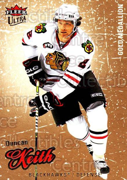 2008-09 Ultra Gold #123 Duncan Keith<br/>5 In Stock - $2.00 each - <a href=https://centericecollectibles.foxycart.com/cart?name=2008-09%20Ultra%20Gold%20%23123%20Duncan%20Keith...&quantity_max=5&price=$2.00&code=238477 class=foxycart> Buy it now! </a>