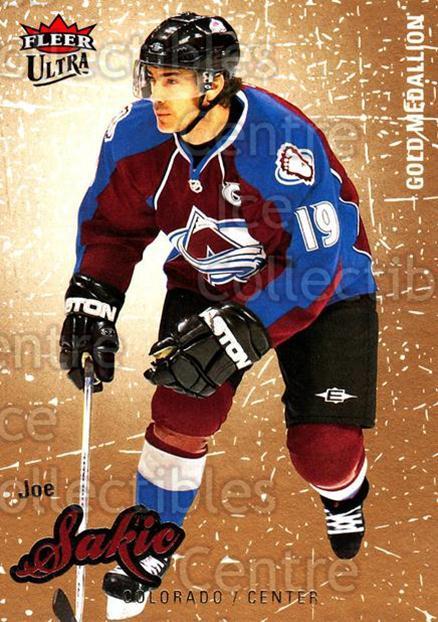 2008-09 Ultra Gold #126 Joe Sakic<br/>5 In Stock - $2.00 each - <a href=https://centericecollectibles.foxycart.com/cart?name=2008-09%20Ultra%20Gold%20%23126%20Joe%20Sakic...&quantity_max=5&price=$2.00&code=238480 class=foxycart> Buy it now! </a>