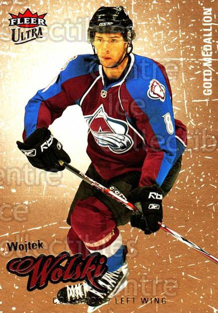2008-09 Ultra Gold #130 Wojtek Wolski<br/>5 In Stock - $2.00 each - <a href=https://centericecollectibles.foxycart.com/cart?name=2008-09%20Ultra%20Gold%20%23130%20Wojtek%20Wolski...&quantity_max=5&price=$2.00&code=238484 class=foxycart> Buy it now! </a>
