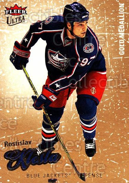 2008-09 Ultra Gold #134 Rostislav Klesla<br/>3 In Stock - $2.00 each - <a href=https://centericecollectibles.foxycart.com/cart?name=2008-09%20Ultra%20Gold%20%23134%20Rostislav%20Klesl...&quantity_max=3&price=$2.00&code=238489 class=foxycart> Buy it now! </a>