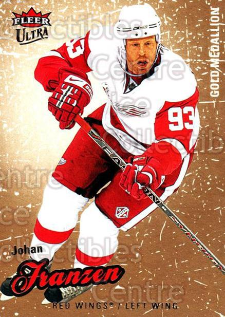2008-09 Ultra Gold #143 Johan Franzen<br/>5 In Stock - $2.00 each - <a href=https://centericecollectibles.foxycart.com/cart?name=2008-09%20Ultra%20Gold%20%23143%20Johan%20Franzen...&quantity_max=5&price=$2.00&code=238499 class=foxycart> Buy it now! </a>