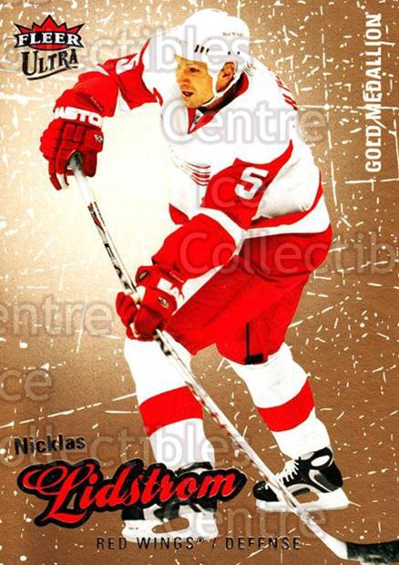 2008-09 Ultra Gold #144 Nicklas Lidstrom<br/>4 In Stock - $2.00 each - <a href=https://centericecollectibles.foxycart.com/cart?name=2008-09%20Ultra%20Gold%20%23144%20Nicklas%20Lidstro...&quantity_max=4&price=$2.00&code=238500 class=foxycart> Buy it now! </a>