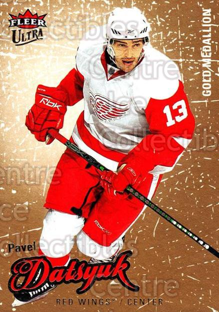 2008-09 Ultra Gold #145 Pavel Datsyuk<br/>5 In Stock - $2.00 each - <a href=https://centericecollectibles.foxycart.com/cart?name=2008-09%20Ultra%20Gold%20%23145%20Pavel%20Datsyuk...&quantity_max=5&price=$2.00&code=238501 class=foxycart> Buy it now! </a>