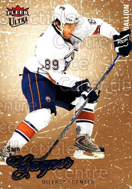 2008-09 Ultra Gold #151 Sam Gagner<br/>2 In Stock - $2.00 each - <a href=https://centericecollectibles.foxycart.com/cart?name=2008-09%20Ultra%20Gold%20%23151%20Sam%20Gagner...&quantity_max=2&price=$2.00&code=238507 class=foxycart> Buy it now! </a>