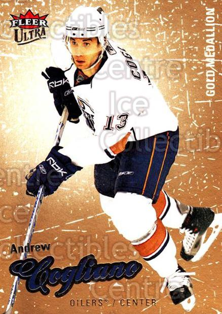 2008-09 Ultra Gold #156 Andrew Cogliano<br/>4 In Stock - $2.00 each - <a href=https://centericecollectibles.foxycart.com/cart?name=2008-09%20Ultra%20Gold%20%23156%20Andrew%20Cogliano...&quantity_max=4&price=$2.00&code=238512 class=foxycart> Buy it now! </a>