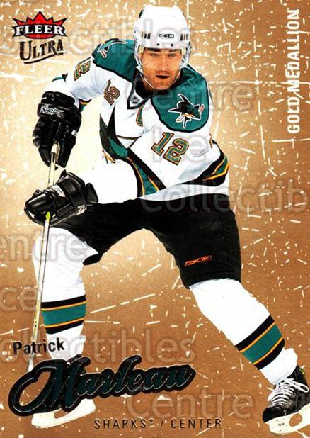 2008-09 Ultra Gold #187 Patrick Marleau<br/>5 In Stock - $2.00 each - <a href=https://centericecollectibles.foxycart.com/cart?name=2008-09%20Ultra%20Gold%20%23187%20Patrick%20Marleau...&quantity_max=5&price=$2.00&code=238542 class=foxycart> Buy it now! </a>