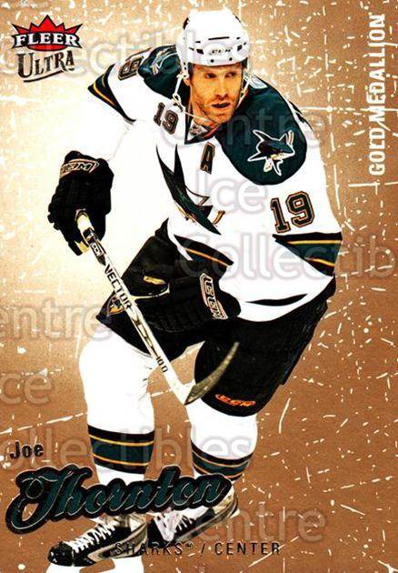 2008-09 Ultra Gold #188 Joe Thornton<br/>5 In Stock - $2.00 each - <a href=https://centericecollectibles.foxycart.com/cart?name=2008-09%20Ultra%20Gold%20%23188%20Joe%20Thornton...&quantity_max=5&price=$2.00&code=238543 class=foxycart> Buy it now! </a>