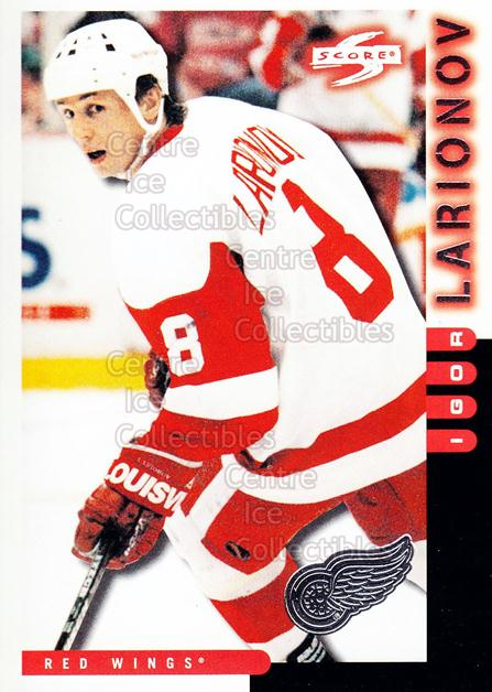 1997-98 Score Detroit Red Wings #5 Igor Larionov<br/>4 In Stock - $2.00 each - <a href=https://centericecollectibles.foxycart.com/cart?name=1997-98%20Score%20Detroit%20Red%20Wings%20%235%20Igor%20Larionov...&quantity_max=4&price=$2.00&code=238584 class=foxycart> Buy it now! </a>