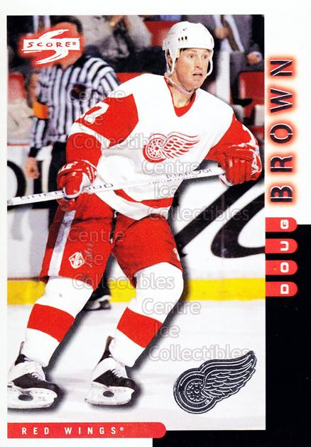 1997-98 Score Detroit Red Wings #13 Doug Brown<br/>7 In Stock - $2.00 each - <a href=https://centericecollectibles.foxycart.com/cart?name=1997-98%20Score%20Detroit%20Red%20Wings%20%2313%20Doug%20Brown...&quantity_max=7&price=$2.00&code=238592 class=foxycart> Buy it now! </a>