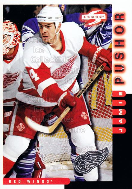 1997-98 Score Detroit Red Wings #19 Jamie Pushor<br/>7 In Stock - $2.00 each - <a href=https://centericecollectibles.foxycart.com/cart?name=1997-98%20Score%20Detroit%20Red%20Wings%20%2319%20Jamie%20Pushor...&quantity_max=7&price=$2.00&code=238598 class=foxycart> Buy it now! </a>