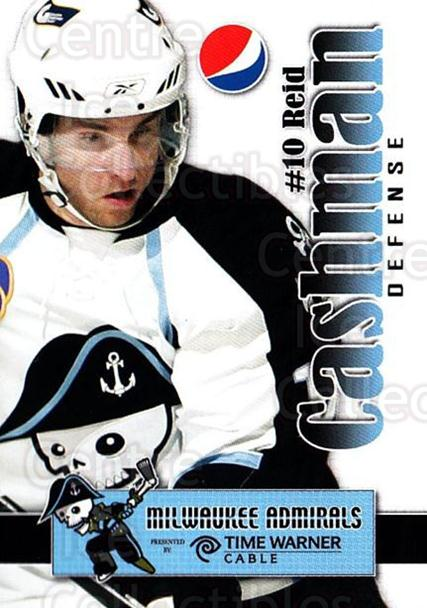 2009-10 Milwaukee Admirals Pepsi #5 Reid Cashman<br/>5 In Stock - $3.00 each - <a href=https://centericecollectibles.foxycart.com/cart?name=2009-10%20Milwaukee%20Admirals%20Pepsi%20%235%20Reid%20Cashman...&quantity_max=5&price=$3.00&code=238801 class=foxycart> Buy it now! </a>