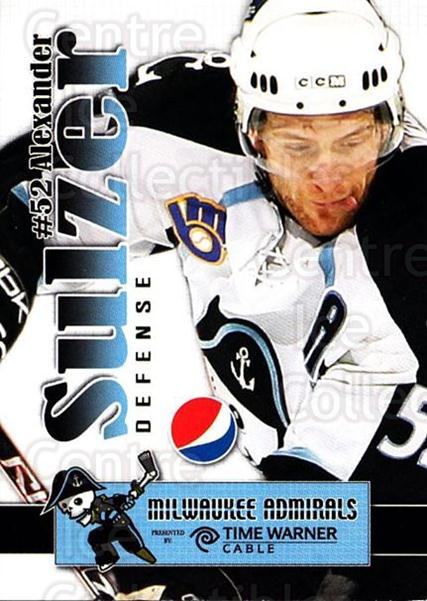 2009-10 Milwaukee Admirals Pepsi #24 Alexander Sulzer<br/>1 In Stock - $3.00 each - <a href=https://centericecollectibles.foxycart.com/cart?name=2009-10%20Milwaukee%20Admirals%20Pepsi%20%2324%20Alexander%20Sulze...&quantity_max=1&price=$3.00&code=238820 class=foxycart> Buy it now! </a>