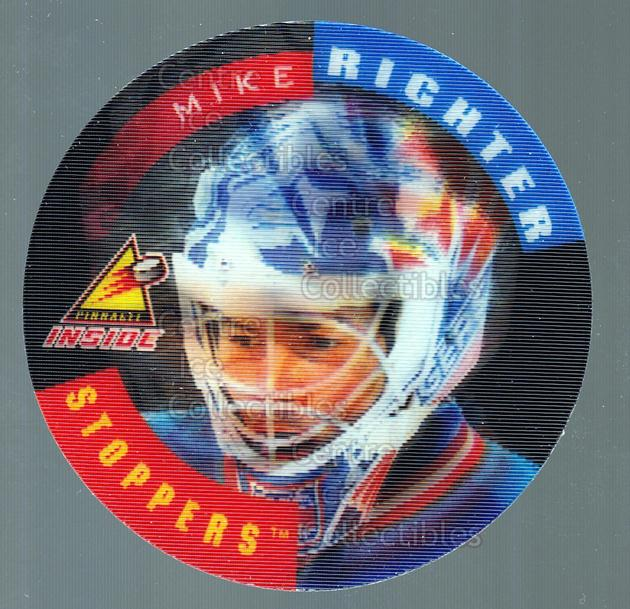 1997-98 Pinnacle Inside Stoppers #5 Mike Richter<br/>1 In Stock - $3.00 each - <a href=https://centericecollectibles.foxycart.com/cart?name=1997-98%20Pinnacle%20Inside%20Stoppers%20%235%20Mike%20Richter...&quantity_max=1&price=$3.00&code=238844 class=foxycart> Buy it now! </a>
