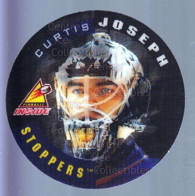 1997-98 Pinnacle Inside Stoppers #12 Curtis Joseph<br/>1 In Stock - $3.00 each - <a href=https://centericecollectibles.foxycart.com/cart?name=1997-98%20Pinnacle%20Inside%20Stoppers%20%2312%20Curtis%20Joseph...&quantity_max=1&price=$3.00&code=238850 class=foxycart> Buy it now! </a>