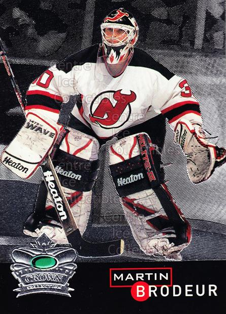 1995-96 Parkhurst Crown Collection Silver Series 1 #11 Martin Brodeur<br/>1 In Stock - $3.00 each - <a href=https://centericecollectibles.foxycart.com/cart?name=1995-96%20Parkhurst%20Crown%20Collection%20Silver%20Series%201%20%2311%20Martin%20Brodeur...&price=$3.00&code=238953 class=foxycart> Buy it now! </a>