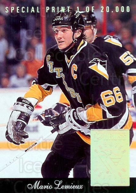 1993-94 Donruss Special Print #R Mario Lemieux<br/>1 In Stock - $5.00 each - <a href=https://centericecollectibles.foxycart.com/cart?name=1993-94%20Donruss%20Special%20Print%20%23R%20Mario%20Lemieux...&price=$5.00&code=238982 class=foxycart> Buy it now! </a>