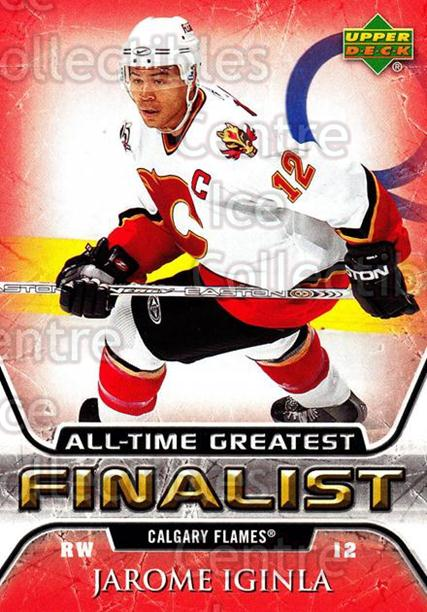2005-06 Upper Deck All-Time Greatest #9 Jarome Iginla<br/>5 In Stock - $2.00 each - <a href=https://centericecollectibles.foxycart.com/cart?name=2005-06%20Upper%20Deck%20All-Time%20Greatest%20%239%20Jarome%20Iginla...&quantity_max=5&price=$2.00&code=239003 class=foxycart> Buy it now! </a>
