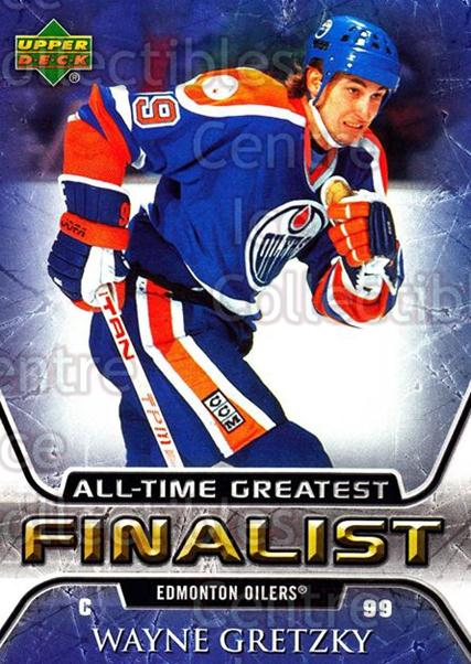 2005-06 Upper Deck All-Time Greatest #23 Wayne Gretzky<br/>2 In Stock - $5.00 each - <a href=https://centericecollectibles.foxycart.com/cart?name=2005-06%20Upper%20Deck%20All-Time%20Greatest%20%2323%20Wayne%20Gretzky...&quantity_max=2&price=$5.00&code=239007 class=foxycart> Buy it now! </a>