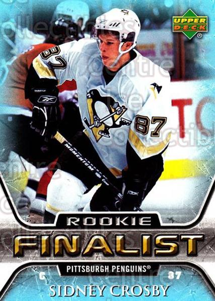 2005-06 Upper Deck All-Time Greatest #84 Sidney Crosby<br/>1 In Stock - $5.00 each - <a href=https://centericecollectibles.foxycart.com/cart?name=2005-06%20Upper%20Deck%20All-Time%20Greatest%20%2384%20Sidney%20Crosby...&quantity_max=1&price=$5.00&code=239021 class=foxycart> Buy it now! </a>