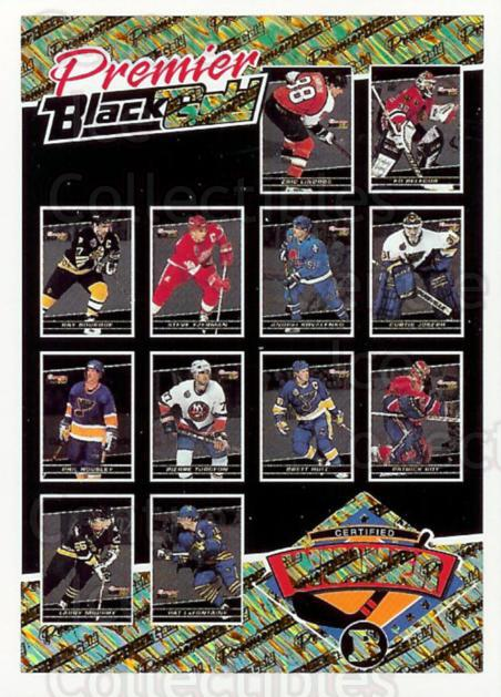 1993-94 Topps Premier Black Gold #26 Ed Belfour, Steve Yzerman, Patrick Roy<br/>8 In Stock - $5.00 each - <a href=https://centericecollectibles.foxycart.com/cart?name=1993-94%20Topps%20Premier%20Black%20Gold%20%2326%20Ed%20Belfour,%20Ste...&price=$5.00&code=239033 class=foxycart> Buy it now! </a>