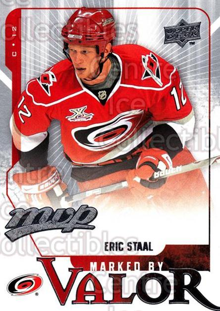2008-09 Upper Deck MVP Marked By Valor #15 Eric Staal<br/>3 In Stock - $2.00 each - <a href=https://centericecollectibles.foxycart.com/cart?name=2008-09%20Upper%20Deck%20MVP%20Marked%20By%20Valor%20%2315%20Eric%20Staal...&quantity_max=3&price=$2.00&code=239057 class=foxycart> Buy it now! </a>