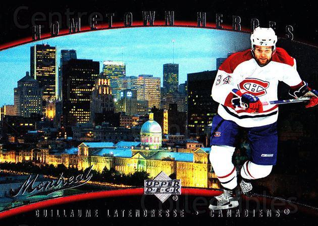 2007-08 Upper Deck Hometown Heroes #69 Guillaume Latendresse<br/>8 In Stock - $2.00 each - <a href=https://centericecollectibles.foxycart.com/cart?name=2007-08%20Upper%20Deck%20Hometown%20Heroes%20%2369%20Guillaume%20Laten...&quantity_max=8&price=$2.00&code=239107 class=foxycart> Buy it now! </a>