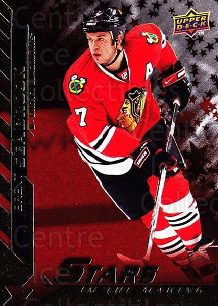 2007-08 Upper Deck Stars In The Making #14 Brent Seabrook<br/>1 In Stock - $2.00 each - <a href=https://centericecollectibles.foxycart.com/cart?name=2007-08%20Upper%20Deck%20Stars%20In%20The%20Making%20%2314%20Brent%20Seabrook...&quantity_max=1&price=$2.00&code=239143 class=foxycart> Buy it now! </a>