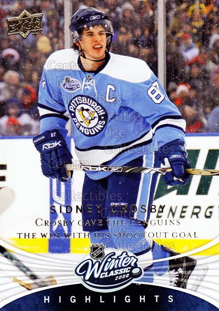 2008-09 Upper Deck Winter Classic #1 Sidney Crosby<br/>2 In Stock - $10.00 each - <a href=https://centericecollectibles.foxycart.com/cart?name=2008-09%20Upper%20Deck%20Winter%20Classic%20%231%20Sidney%20Crosby...&quantity_max=2&price=$10.00&code=239172 class=foxycart> Buy it now! </a>