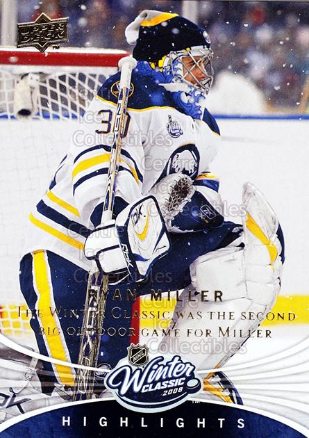 2008-09 Upper Deck Winter Classic #2 Ryan Miller<br/>6 In Stock - $2.00 each - <a href=https://centericecollectibles.foxycart.com/cart?name=2008-09%20Upper%20Deck%20Winter%20Classic%20%232%20Ryan%20Miller...&quantity_max=6&price=$2.00&code=239173 class=foxycart> Buy it now! </a>