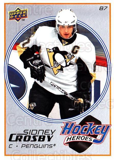2008-09 Upper Deck Hockey Heroes Sidney Crosby #1 Sidney Crosby<br/>1 In Stock - $3.00 each - <a href=https://centericecollectibles.foxycart.com/cart?name=2008-09%20Upper%20Deck%20Hockey%20Heroes%20Sidney%20Crosby%20%231%20Sidney%20Crosby...&quantity_max=1&price=$3.00&code=239186 class=foxycart> Buy it now! </a>