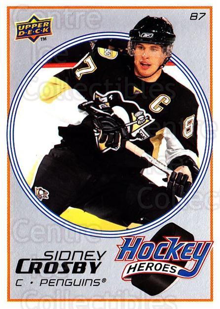 2008-09 Upper Deck Hockey Heroes Sidney Crosby #3 Sidney Crosby<br/>5 In Stock - $3.00 each - <a href=https://centericecollectibles.foxycart.com/cart?name=2008-09%20Upper%20Deck%20Hockey%20Heroes%20Sidney%20Crosby%20%233%20Sidney%20Crosby...&quantity_max=5&price=$3.00&code=239188 class=foxycart> Buy it now! </a>