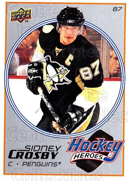 2008-09 Upper Deck Hockey Heroes Sidney Crosby #4 Sidney Crosby<br/>1 In Stock - $3.00 each - <a href=https://centericecollectibles.foxycart.com/cart?name=2008-09%20Upper%20Deck%20Hockey%20Heroes%20Sidney%20Crosby%20%234%20Sidney%20Crosby...&quantity_max=1&price=$3.00&code=239189 class=foxycart> Buy it now! </a>
