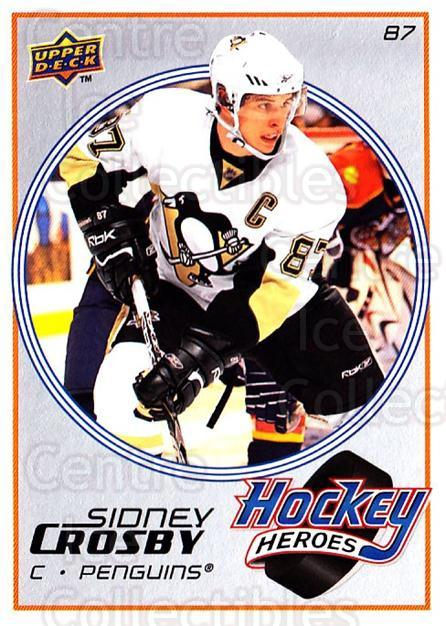 2008-09 Upper Deck Hockey Heroes Sidney Crosby #5 Sidney Crosby<br/>5 In Stock - $3.00 each - <a href=https://centericecollectibles.foxycart.com/cart?name=2008-09%20Upper%20Deck%20Hockey%20Heroes%20Sidney%20Crosby%20%235%20Sidney%20Crosby...&quantity_max=5&price=$3.00&code=239190 class=foxycart> Buy it now! </a>